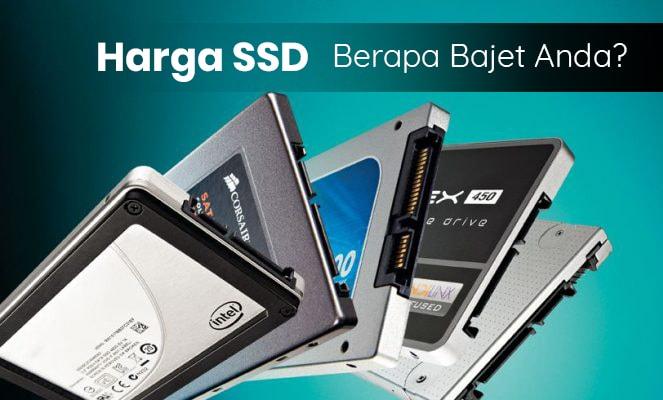 Harga SSD Bajet