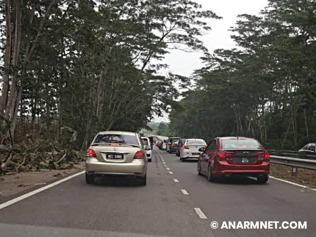Jalan jem balik raya Aidiladha 2019