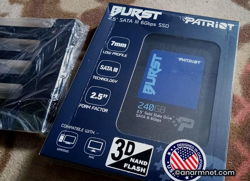 Patriot Burst SSD 240GB SATA III