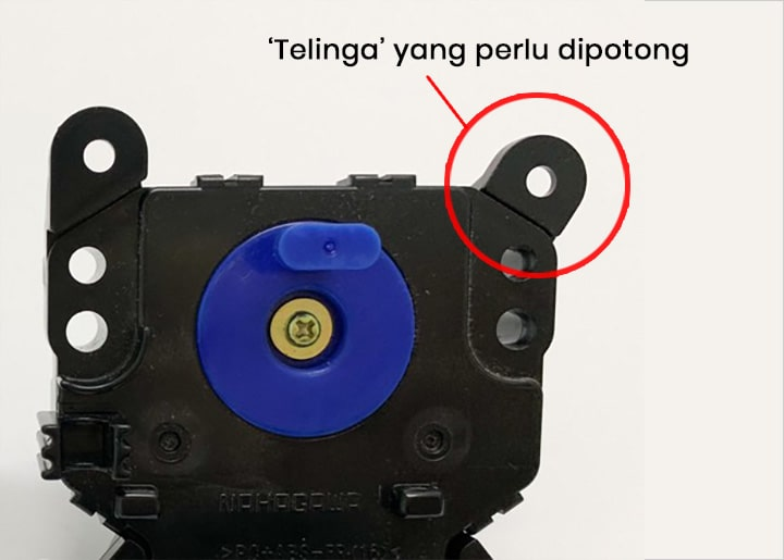 Telinga drain motor replacement Toshiba A820MM