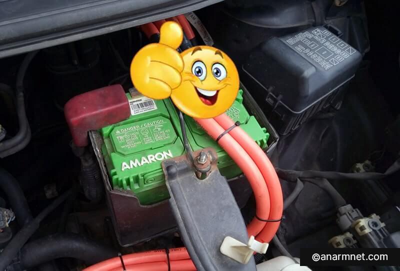 Bateri Amaron Perodua Alza