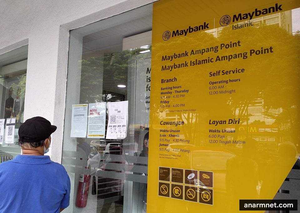 Buka akaun perniagaan Maybank